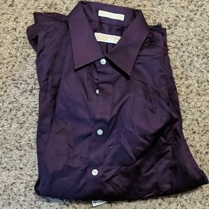 Michael Michael Kors Dress Shirt, Solid L/S Shirt